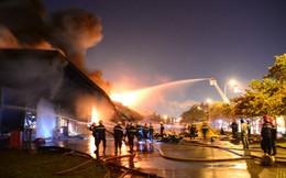 Đã dập tắt vụ cháy kinh hoàng tại Công ty Sakata, Bình Dương