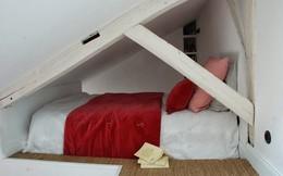 Căn hộ 25 m2 có 2 'phòng ngủ' và đầy đủ tiện nghi
