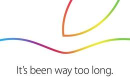 Apple xác nhận tổ chức sự kiện vào 16/10