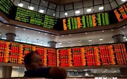 Chứng khoán châu Á lao dốc xuống mức thấp nhất trong 5 tuần
