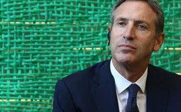 10 bài học kinh doanh vô giá của CEO Starbucks Howard Schultz