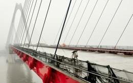 Lùi thời gian thông xe cầu Nhật Tân đến tháng 1/2015