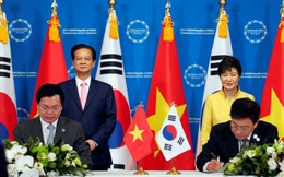 Hiệp định FTA Việt Nam - Hàn Quốc sẽ được ký kết vào đầu năm 2015