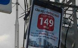 Lần theo các quảng cáo bán căn hộ trên... cột điện