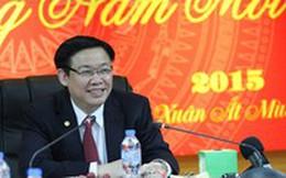 Trưởng ban Kinh tế TƯ Vương Đình Huệ nhận định về triển vọng nền kinh tế Việt Nam 2015