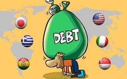 """Những quốc gia """"ngập đầu trong nợ"""""""