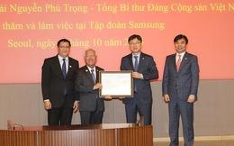 Trao giấy phép đầu tư dự án 1,4 tỷ USD của Samsung vào Việt Nam