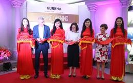 Hệ thống phân phối đồ da châu Âu Gurkha khai trương gian hàng lớn nhất