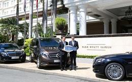 Mercedes-Maybach S 600 được lựa chọn đưa đón khách tại Park Hyatt