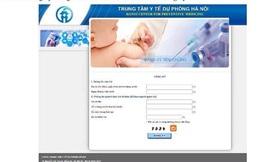 Hà Nội bắt đầu nhận đăng ký tiêm Pantexim qua mạng từ ngày 29/12