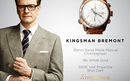 Làm sao để đeo đồng hồ 'chuẩn' theo phong cách điệp viên Kingsman?