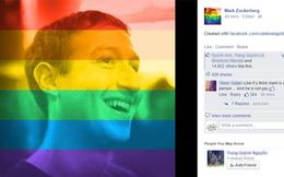 """Facebook tung công cụ """"lục sắc"""" avatar ủng hộ cộng đồng LGBT"""