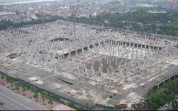 Dự án đại siêu thị Ciputra sau 5 năm mới xây xong phần móng