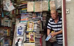 """Hiệu sách cũ phố Bà Triệu: Đã hết thời của """"Dư máy chém""""? (P.2)"""