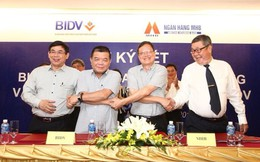 MHB chính thức về một nhà với BIDV