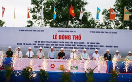 Hơn 12.000 tỷ đồng xây dựng đường cao tốc Bắc Giang - Lạng Sơn