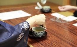 Thưởng thức trà và món ngọt tinh tế như người Nhật