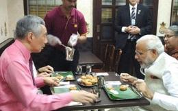 Bữa tối giản dị của thủ tướng Singapore và thủ tướng Ấn Độ