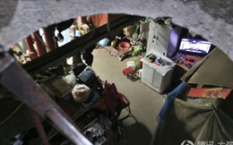 Kỳ thú với cuộc sống dưới hầm ngầm nhưng đầy đủ tiện nghi