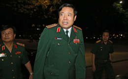 Đại tướng Phùng Quang Thanh đã đến dự chương trình truyền hình trực tiếp