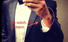 Tại sao không nên đeo đồng hồ khi mặc Tuxedo?