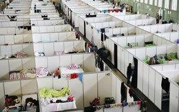 Cận cảnh cuộc sống trong trại di cư ở Đức