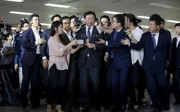 Cuộc chiến vương quyền như trên phim của Lotte