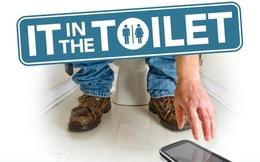 Khảo sát thói quen dùng smartphone khi đang trong... Toilet