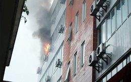 Cháy tại tòa nhà Xuất nhập khẩu Hàng không