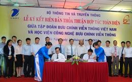 VNPT và Học viện công nghệ bưu chính viễn thông ký kết thỏa thuận hợp tác toàn diện