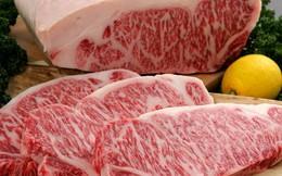 Thịt bò Kobe giá 3 triệu đồng/kg