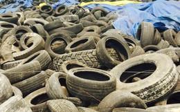 4.800 container lốp ôtô đã qua sử dụng được nhập về VN