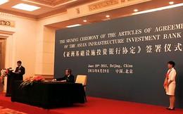 Việt Nam làm cổ đông sáng lập ngân hàng 100 tỷ USD