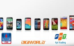 FPT Trading- PSD- Digiworld: Thế chân vạc ngành phân phối điện máy