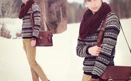 Bí quyết kết hợp áo len và quần jeans sành điệu cho nam giới