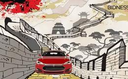 Sạc điện cho ô tô Tesla 'kiểu' Trung Quốc