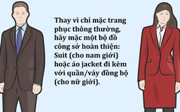 [Infographic] Cách mặc trang phục công sở như một nhà quản lý cấp cao