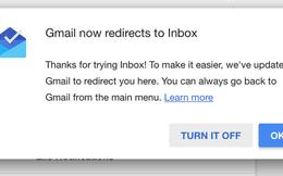 Chia tay Gmail, xin chào Inbox
