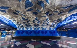 Nhà ga Stockholm: Nơi ẩn giấu những tác phẩm nghệ thuật tuyệt vời