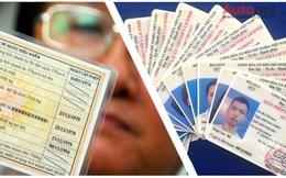 Đổi giấy phép lái xe: Cứ từ từ mà làm, một năm nữa mới hết hạn!