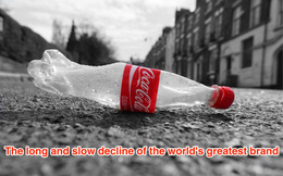 'Ngày Coca Cola là thương hiệu lớn nhất thế giới đã qua rồi'
