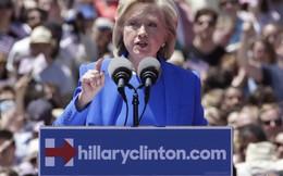 Diễn văn tranh cử tổng thống đầu tiên củabà Clinton