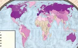 5 tấm bản đồ sau sẽ khiến bạn thay đổi cách nhìn về thế giới hiện tại