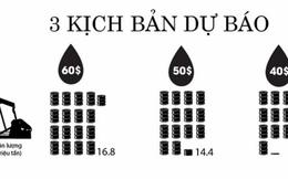 [Infographic] Kịch bản nào cho giá dầu và GDP Việt Nam năm 2015?