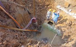 Đường ống nước sông Đà lại bị sự cố lần thứ 11