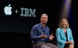 """Vì sao Apple và IBM bỗng nhiên """"mặn nồng"""" trở lại?"""
