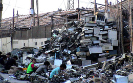 Giật mình trước những bãi rác điện tử khổng lồ ở thị trấn chết Guiyu