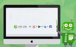 Cốc Cốc vượt Chrome về lượng tìm kiếm tại Việt Nam