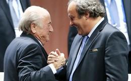 Vụ bê bối tiền bạc ở FIFA: Platini trong bẫy của Blatter