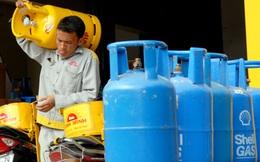 Giá gas tăng 5.000 đồng/bình 12 kg